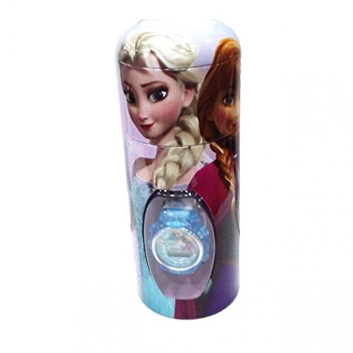 Disney Frozen- Set con reloj de pulsera y hucha metal, unica (Kids Euroswan WD16722)