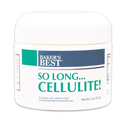 Baker's Best So Long... Cellulite! | Anti-Cellulite Cream for Legs, Thighs and Butt | Cellulite Treatment for Women - 2 Ounce