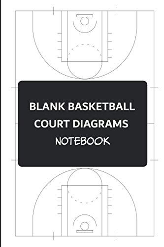 Blank Basketball Court Diagrams Notebook: A Blank Basketball Playbook To Help Coaches And Players Get Better By Planning And Preparing Basketball Drills, Plays, And Strategies