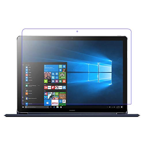 [3 pacotes] Protetor de tela para Huawei MateBook E (12 polegadas), protetor de tela de vidro temperado resistente a arranhões para Huawei MateBook E de 12 polegadas