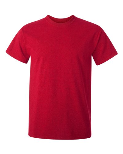 Gildan mens Ultra Cotton Adult Pack fashion t shirts, Antqcherryrd/Carolinablue, XX-Large US
