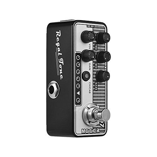 MOOER Digital Preamp Preamplifier Guitar Effect Pedal 007 Regal Tone Vintage Tone MICRO PREAMP Series True Bypass