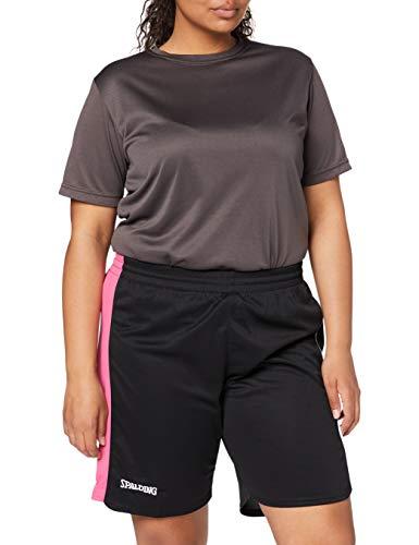 Spalding 4her II Shorts De Equipaciones, Mujer, Negro, XL