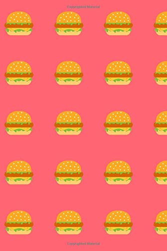 Burgers Lined Notebook & Journal