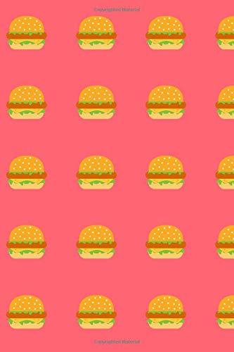 Burgers Lined Notebook & Journal