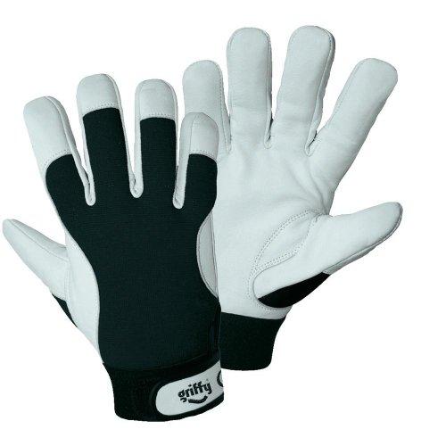 L+D Griffy 1707-9 Nappaleder Montagehandschuh Größe (Handschuhe): 9, L EN 388, EN 511 CAT II 1 Paar
