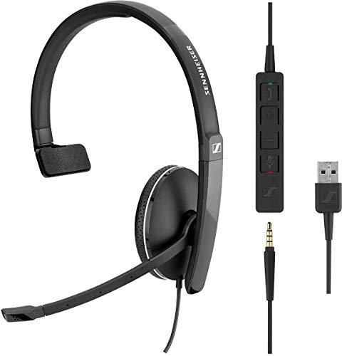 Sennheiser SC 135 Headset USB Mono 508316
