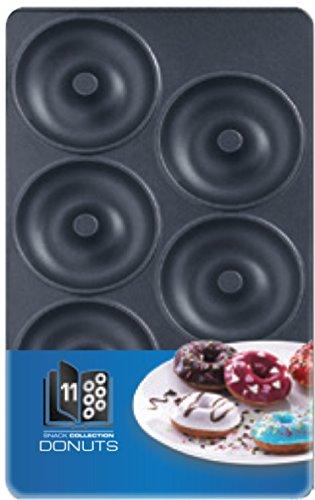 Tefal Coffret Snack Collection de 2 plaques beignets + livre de recettes XA801112