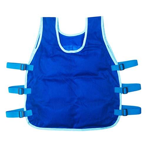 Chaleco de enfriamiento de verano con bolsas de hielo - Deportes al aire libre Chaleco más fresco de verano con bolsas de hielo de 24 piezas, aptas para la pesca al aire libre Ciclismo en marcha