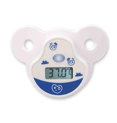 Mobiclinic Fieberthermometer Baby, Schnullerform, Digitales Thermometer, Fiebermesser