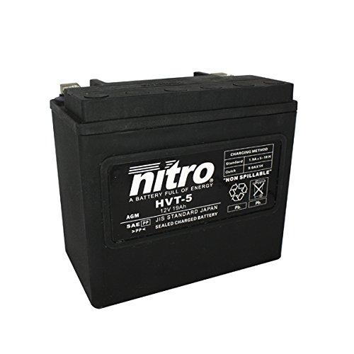 NITRO HVT 05 -N- Batteries, Schwarz (Preis inkl. EUR 7,50 Pfand)