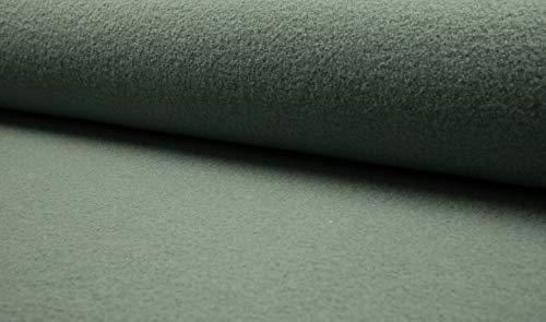 Walkloden, Walkstoff, 100% Wolle, Meterware, 0,5m, Loden, Trachtenstoffe, Wollwalk, Wollstoff (Mint)