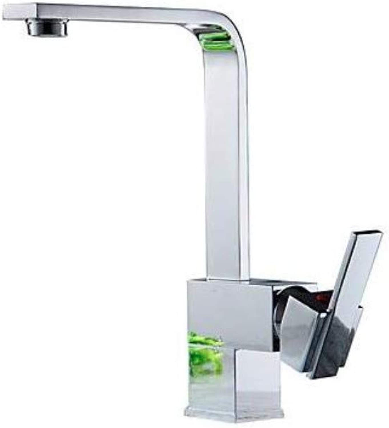 Taps Kitchen Sinkkitchen Faucet - Contemporary Nickel Polished Ceramic Valve
