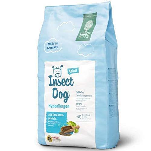 Green Petfood InsectDog Hypoallergen Adult – Getreidefreies Trockenfutter für ausgewachsene, empfindliche Hunde – Mit Insektenprotein
