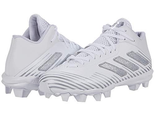 adidas Men's Freak Mid 20 Football Shoe, White/Silver Metallic/White, 9.5