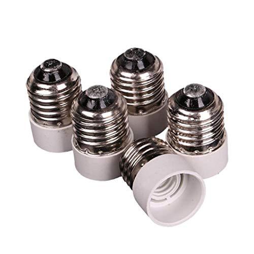 NaisiCore E27 al Adaptador Socket E14, Medium Tornillo al Intermedio Base de la Bombilla de luz del Adaptador del zócalo del convertidor Reductor de 5 PCS
