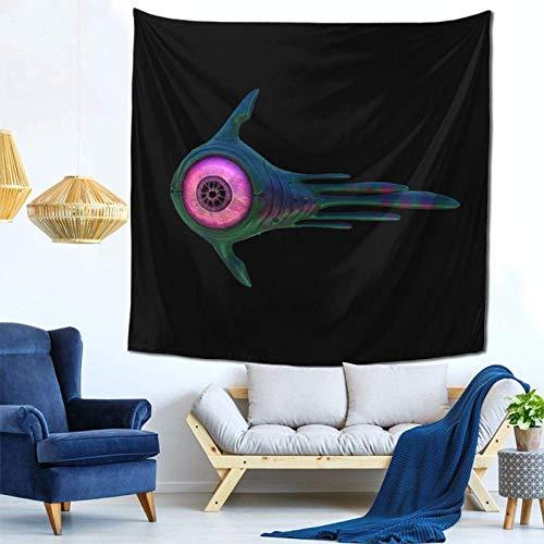 chengwu Subnautica Tapisserie Wandbehang Poster Art Dekoration für Schlafzimmer In 59 '' X 59 '' Zoll