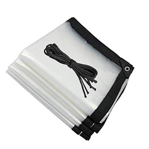 QI-CHE-YI Wrapped rain cloth, cold protection, fleshy greenhouse film, no drip film, transparent multifunctional plastic film,4x7m