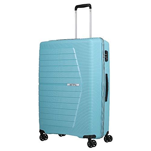 Travelite Nubis Suitcase with 4 Wheels L 76 cm Light Blue