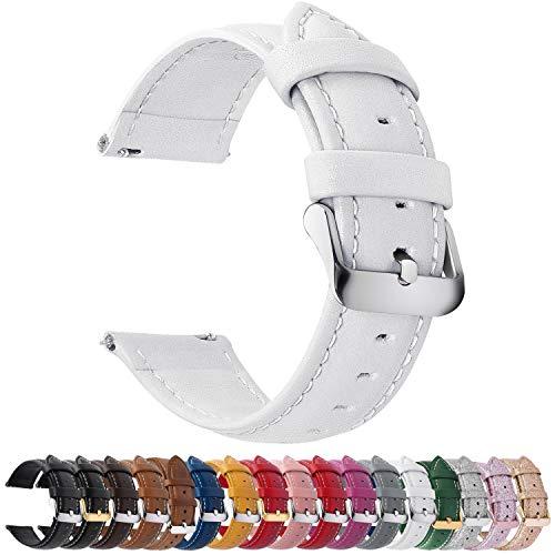 Fullmosa Axus Correa Piel, 12 Colores para Correa Reloj, Huawei Samsung Correa/Banda/Pulsera/Strap,…