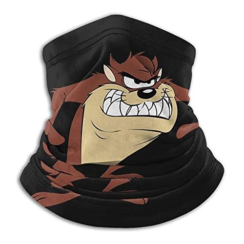 Looney Tunes Tasmanian Devil Taz Bandana Versatilidad Diadema Headwear Hombres y Mujeres Microfibra Cuello Calentador Polaina Elástico Cara Cara Media Máscara Tubo Bufanda
