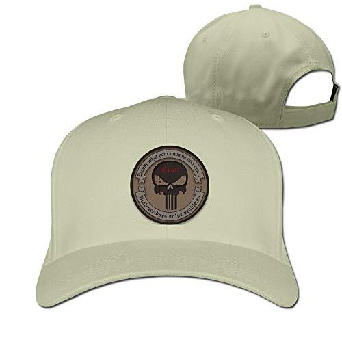 Youaini Chris Kyle Frog Foundation-American Sniper Ajustable Baseball Cap Cotton Natural