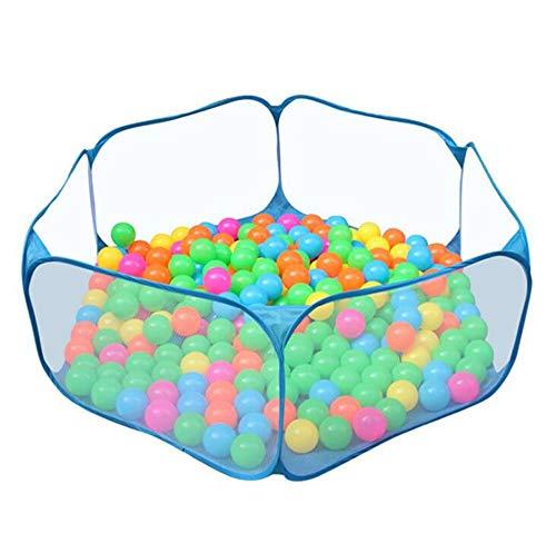 Carpa Infantil Hexagonal Portátil, Piscina De Bolas Oceánicas Plegable para Interiores Y Exteriores, Rellena con Bolas De Plástico (Bolas No Incluidas), con Bolsa De Transporte