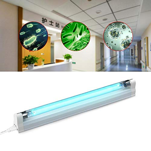 Cheapest Price! no logo PNBHP 6W 8W Germicidal Sterilizer UV LED lamp 110v 220v Ultraviolet Quartz L...