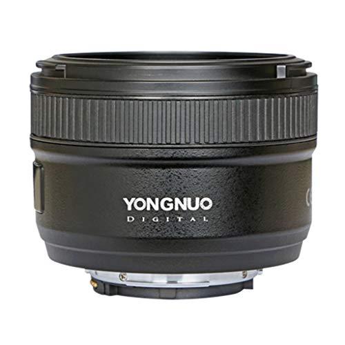 Almencla Lente de Apertura de Enfoque F1.8 de 50 mm, Objetivo para Nikon D Series, Diagonal: 46 °, Distancia de Enfoque más Cercana: 0.45 m