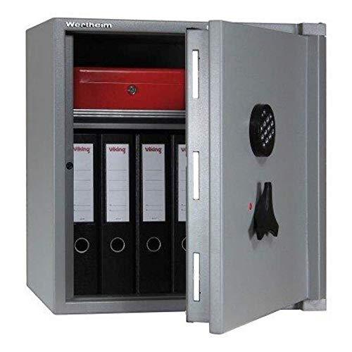 Wertheim Wertschutzschrank AG15, Mechanisches Zahlenkombinationsschloss La Gard 3390 VZ, Grad 1 nach EN 1143-1, H56.5xB45xT44.2 cm, 130 kg