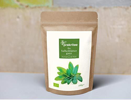 BIO Salbeiblätter ganz Tee 100g | Salbeiblätter ganz | Salbei | ORGANIC Sage leaves | Kräuter | Herbs | 100g | DE-ÖKO-044