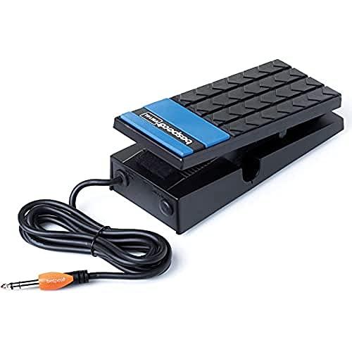 Bespeco VM16L Lautstärke- / Expression-Pedal für Keyboard, Schwarz
