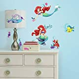 RoomMates RMK2347SCS The Little Mermaid - Vinilo decorativo para pared, diseño de la sirena, multicolor