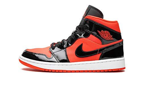 Jordan WMNS Air 1 Mid (Bright Crimson/Black 8W)