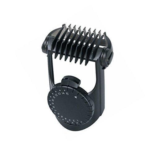 BaByliss 35808450 ORIGINAL Rasieraufsatz Bart Aufsteckkamm Schwarz Einstellbar 1-15 mm z.T. E845E E845IE E846E E846PE E847E Haarschneidemaschine Rasierer Trimmer