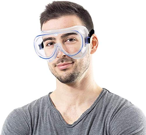 2 Pack Safety Goggles Over Glasses-Perfect for Industrial ...