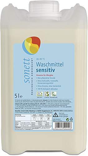 Sonett Bio Waschmittel sensitiv 30 - 60- 95 C (2 x 5 l)