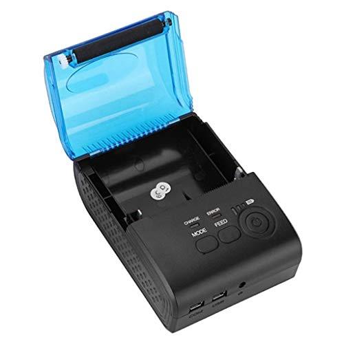 SDENSHI Toma UE para impresora térmica portátil pequeña impresora inalámbrica Bluetooth 4.0