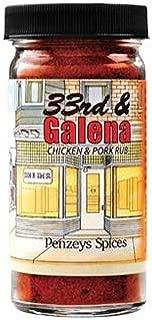 33rd & Galena Seasoning By Penzeys Spices 2.3 oz 1/2 cup jar