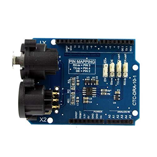hgbygvuy DMX Shield Max485 Chipset Development Board für Arduino - Produkte, die mit verschriebenen Arduino-Boards zusammenarbeiten