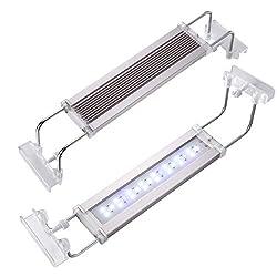 UEETEK-LED-Aquarium-Licht-Aquariumleuchte-mit-ausziehbaren-Halterungen-24-LEDs-Gre-15-bis-23-Zoll-12Watt