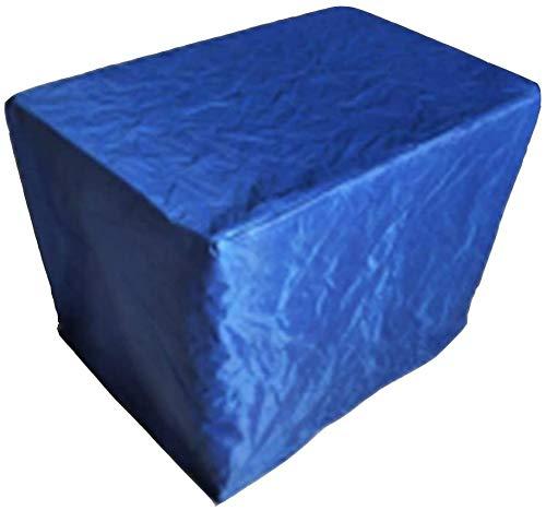 Cubiertas Patio Mobiliario Prueba de Viento Resistente al Desgaste Mesa de Centro y de heces Muebles de jardín Set, 2 Colores, 28 Tamaños (Color : A, Size : 0.8x0.8x1.2m)