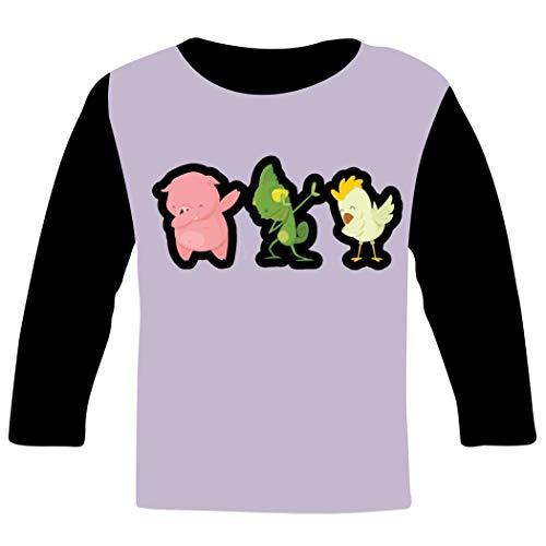 Children long sleeve T-Shirt キッズ 長袖Tシャツ Funny Animals 3D プリント hip hop風 カジュアル丸首 シャツ スポーツ スウェット 男女兼用