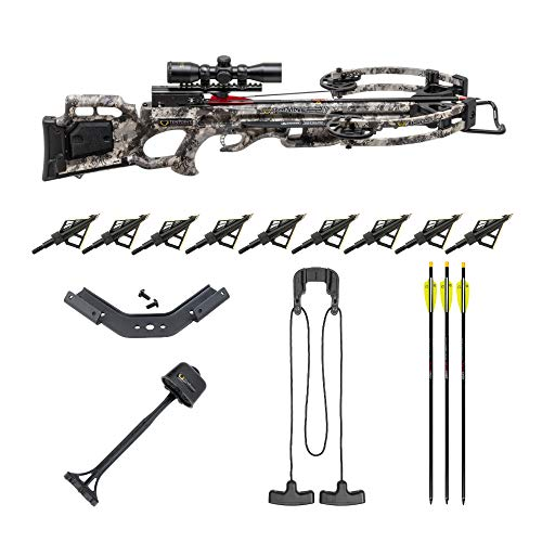 TenPoint Titan M1 370 FPS Rope Sled Crossbow with Pro-View 3...