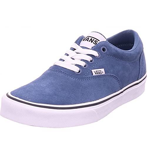Vans Doheny, Zapatillas Hombre, Suede Cement Blue White, 43 EU
