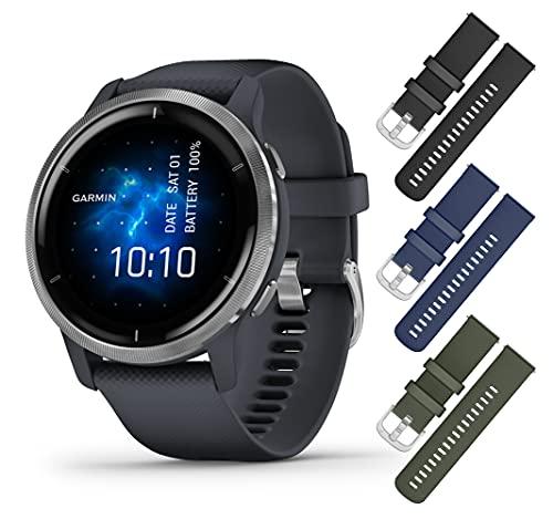 Garmin Venu 2, GPS Sport Smartwatch with...