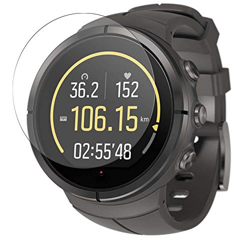 Vaxson Vetro Temperato Pellicola Protettiva, compatibile con Suunto Spartan Ultra Titanium Smart Watch, 9H Screen Protector Pacco da 3