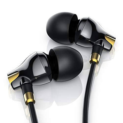 LIAM & DAAN - Auriculares intraurales (tecnología EP Power Bass, diseño de cerámica LD, cancelación de Ruido optimizada)