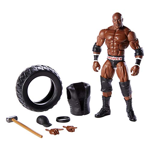 WWE GCL49 - Elite Actionfigur Bobby Lashley 15 cm, Actionfiguren ab 8 Jahren