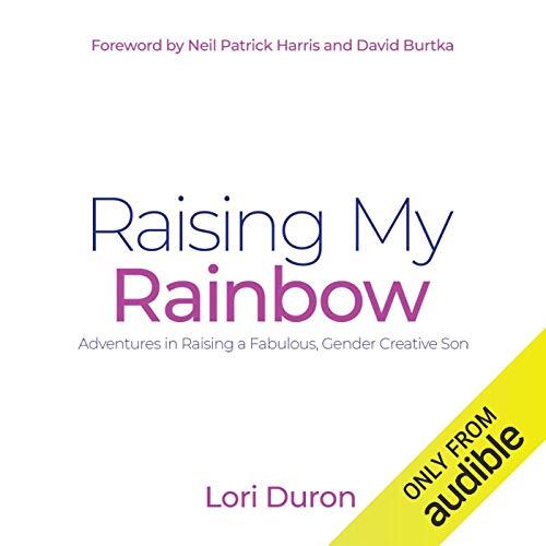 Raising My Rainbow audiobook cover art